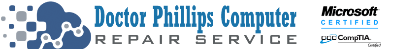 Call Doctor Phillips Computer Repair Service at 407-801-6120